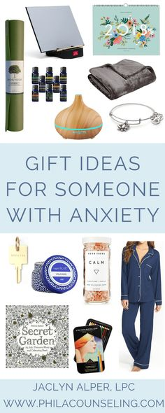 Check out these gift ideas for someone who experiences frequent or intense anxiety symptoms. The gifts included on this list were chosen because they support the use of adaptive coping strategies for managing anxiety, such as engaging in calming activities, using self-soothing and relaxation techniques, and practicing mindfulness.