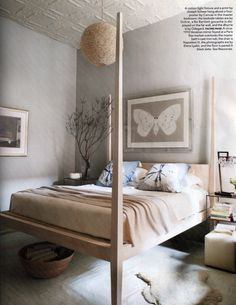 Elle Decor Article Features Niche Modern Lighting in Home of Ochre Founders Home Bedroom, Master Bedroom, Bedroom Decor, Bedroom Ideas, Bedrooms, Glam Bedroom, Bedroom Wall, Ochre Bedroom, Taupe Bedroom
