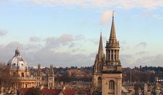 View from Carfax Tower | 32 Photos That Prove Oxford Is An Awe-Inspiring Wonderland