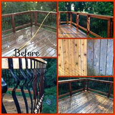 Deck restoration completed by J&H Painting #deck @J&H Painting