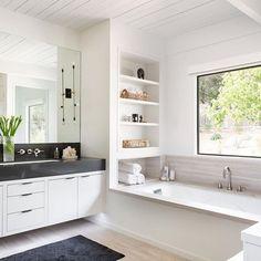 Bathroom Remodel Shower Bathtub Storage New Ideas Bathtub Storage, Built In Bathtub, Drop In Bathtub, Bathtub Shelf, Bathtub Alcove, Bathroom Remodel Cost, Shower Remodel, Bathtub Remodel, Budget Bathroom