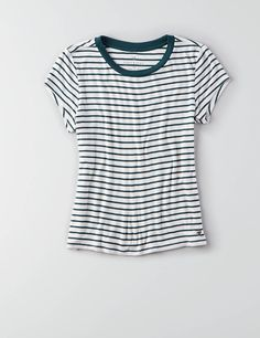 AEO Soft & Sexy Tomgirl T-Shirt , Brown | American Eagle Outfitters