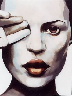 Thomas Saliot Paintings - She couldn't quite lift her arm fully Thomas Saliot, Art Thomas, Heart Art, Pictures To Paint, Portrait Art, Face Art, Art Images, New Art, Amazing Art