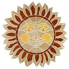 Desert Sun - Pool Mosaic