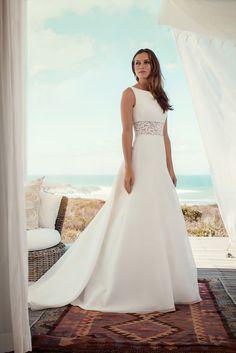 "Brautkleid Monaco aus der Marylise Brautmoden Kollektion 2015 :: bridal dress from the 2015 Marylise collection ""Les nouvelles femmes"" by Misolas"