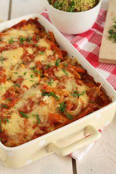 Ελαφριά μεξικάνικα λαζάνια με λαχανικά Mexican Lasagna, Mexican Kitchens, Cooking Time, The One, Veggies, Healthy Recipes, Ethnic Recipes, Food, Life