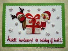 Cute Santa/Rudolph