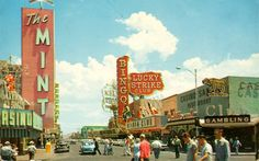 vintage las vegas | Vintage Photos of Las Vegas in the 1950s and 1960s