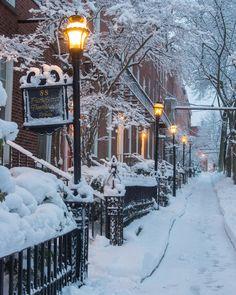 Rue du PetitChamplain, Quebec FunSubstance Winter