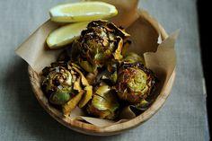 Baby Purple Artichokes Fried in Olive Oil recipe on Food52
