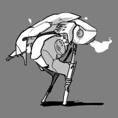 Bipedal mech