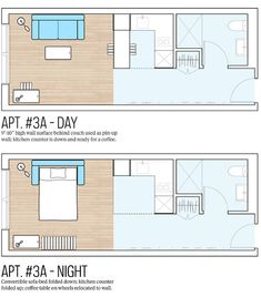25 square meter micro apartment plan - good rectangular plan ...
