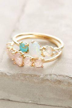 Rosaline Ring Set