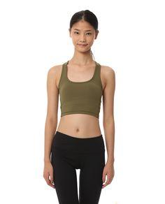 AUMNIE :: CT VITALITY TANK MOSS  #yoga #pilates #yogatank #yogatop #yogawear #fittnesswear #sportswear