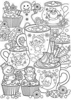 New Year Coloring Pages, Coloring Pages To Print, Free Coloring Pages, Printable Coloring Pages, Free Adult Coloring, Coloring Pages For Kids, Coloring Books, Disney Coloring Pages, Kids Coloring