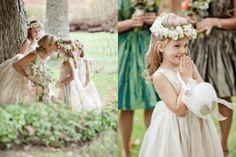 Tips Boda: ¡Mamá, quiero un vestido como el tuyo! Novias vestidas a conjunto con sus pajes o hijas