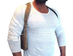 Bolsa de halter Bruno por AnnaBelleBags en Etsy Mens Travel Bag, Duffle Bag Travel, Duffle Bags, Travel Bags, How To Wear Suspenders, Briefcase For Men, Leather Briefcase, Bag Men, Men Bags