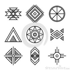 Native American Indians Tribal Symbols Native American Patterns, Native American Symbols, Native American Design, American Indian Art, Native American Indians, American History, British History, American Women, Native Symbols