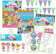 Lala printables for party