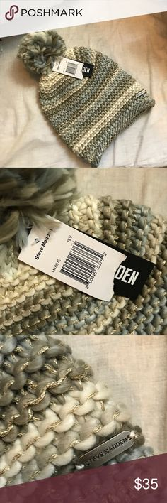 🦃‼️FIRST OFFER TAKES IT‼️🦃 Brand new! Steven Madden beanie! Steve Madden Accessories