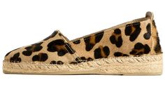 Die Espadrilles Holly mit Leoparden-Druck sind die Beststeller des Labels La Palmerie.