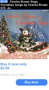 Christmas Songs And Album: Charles Brown Sings Christmas Songs By Charles Brown (Cd, Jan-1998, Deluxe) BUY IT NOW ONLY: $5.95