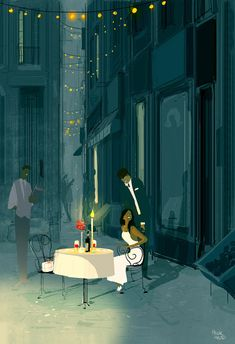 ⌨HAPPY VALENTINE'S DAY by Pascal Campion⌨ #pascalcampion #paintings #artwork