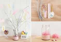Celebrate Easter with Swedish Easter Paskris. Find out how to make your own on our blog.
