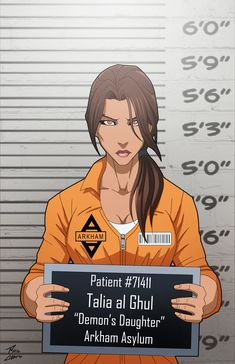 Talia Al Ghul locked up by phil-cho.deviantart.com on @DeviantArt
