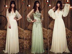 Los vestidos de novia de Jenny Packham de la colección 2017 son para enamorarse. Vestidos de novia de aire vintage, un poco gypsy, muy favorecedores, femeninos y con telas de la mas fina calidad es lo que propone la diseñadora británica. Y esos apliques a los que nos tiene acostumbradas que nos enamoran… Jenny Packham …