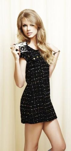 Taylor Swift ♥ Love the look very sixties... Think Jean Shrimpston and David Bailey!!!