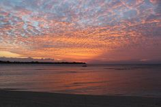 Sunset at Gili Meno, the Robinson Crusoe island (Indonesia) - Sonne & Wolken