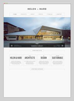 Minimalist responsive web design