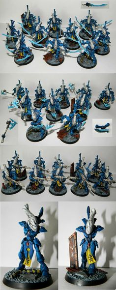 Eldar Alaitoc Wraithblades / Wraithguard