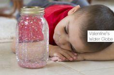 Valentine's DIY Water Globe #12MonthsOfMartha - Fancy Shanty