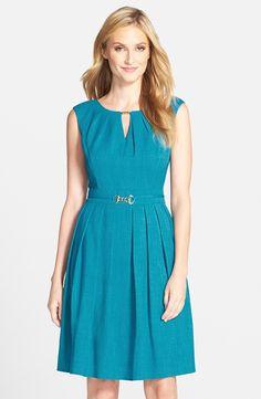 d949d68c687 Ellen Tracy  Kenya  Fit   Flare Dress
