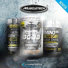 NEW ENTRY | #MUSCLETECH  => ULTRA CARNITINE SX-7 BLACK ONYX => ESSENTIAL PLATINUM BCAA  => AMINO 4XL SX-7 BLACK ONYX 1                                     #aminoacidi #carnitina #bcaa #allenamento #palestra #muscoli #fitness #bodybuidling