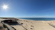 360º Virtual Visit to Praia da Comporta, Portugal - via www.visitasvirtuais.com