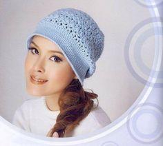 Bonnets et chapeaux fleuris , colorés , accompagnés de leurs grilles gratuites , trouvés sur les pages facebook de