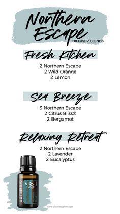 Doterra Diffuser, Essential Oil Diffuser Blends, Essential Oil Uses, Doterra Essential Oils, Doterra Blends, Aroma Diffuser, Diffuser Recipes, Fresh Green, Enneagram 9