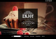 #wordpress website design: food & restaurant website custom web design premade website design theme