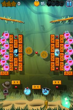 (*** http://BubbleCraze.org - Free family-friendly Android/iPhone game for all ages. ***)  Scramblies #iPhone #Game