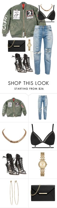 """""""I wanna date a scammer"""" by xshe-hood-thox ❤ liked on Polyvore featuring Levi's, Givenchy, Topshop, Sophia Webster, Michael Kors, Dean Harris and MICHAEL Michael Kors"""