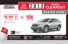 Honda Clearout Event