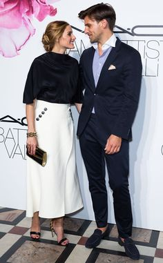 Olivia Palermo & Johannes Huebl from The Big Picture: Today's Hot Pics  The newlyweds look so in love at the M.A.C Cosmetics & Giambattista Valli Floral Obsession Ball in Paris.