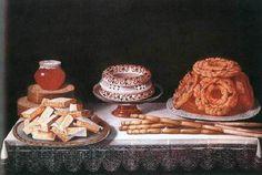 """""""Bodegón de dulces"""". Obra de Juan van der Hamen"""
