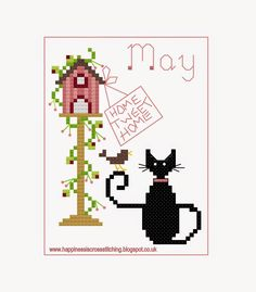 May mini cat pattern now ready!