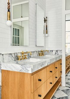Vanessa Carlton: White Thin Brick Bath | Fireclay Tile | Fireclay Tile