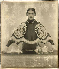 "Adolf Gayne De Meyer (German, 1868-1946), Fashion Model (for Harpers Bazaar), c.1926, gelatin silver print, unsigned, sheet: 9.125""h x 7.625..."