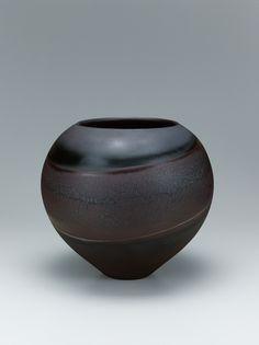 "View the Details of Jar with ""ren'yū"" glaze. ""Jupiter"". Gallery Japan transmits…"